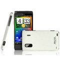 IMAK Ultrathin Matte Color Covers Hard Cases for HTC EVO Design 4G Hero S Kingdom - White