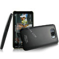 IMAK Ultrathin Matte Color Covers Hard Cases for HTC Leo T8585 T8588 Touch HD2 - Black