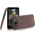 IMAK Ultrathin Matte Color Covers Hard Cases for HTC Leo T8585 T8588 Touch HD2 - Brown