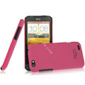 IMAK Ultrathin Matte Color Covers Hard Cases for HTC One V Primo T320e - Rose