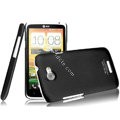 IMAK Ultrathin Matte Color Covers Hard Cases for HTC One X Superme Edge S720E G23 - Black