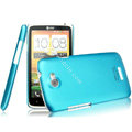 IMAK Ultrathin Matte Color Covers Hard Cases for HTC One X Superme Edge S720E G23 - Blue