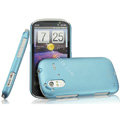 IMAK Ultrathin Matte Color Covers Hard Cases for HTC Ruby Amaze 4G - Blue