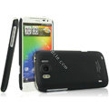 IMAK Ultrathin Matte Color Covers Hard Cases for HTC Sensation XL Runnymede X315e G21 - Black