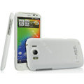 IMAK Ultrathin Matte Color Covers Hard Cases for HTC Sensation XL Runnymede X315e G21 - White
