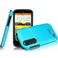 IMAK Ultrathin Matte Color Covers Hard Cases for HTC T328W Desire V - Blue