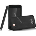 IMAK Ultrathin Matte Color Covers Hard Cases for HTC T328d Desire VC - Black