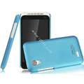 IMAK Ultrathin Matte Color Covers Hard Cases for HTC T328t Desire VT - Blue