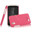 IMAK Ultrathin Matte Color Covers Hard Cases for HTC T328t Desire VT - Rose