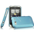 IMAK Ultrathin Matte Color Covers Hard Cases for HTC Wildfire S A510c G13 - Blue