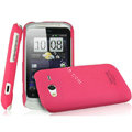 IMAK Ultrathin Matte Color Covers Hard Cases for HTC Wildfire S A510c G13 - Rose
