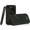 IMAK Ultrathin Matte Color Covers Hard Cases for Hisense EG906 - Black