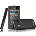 IMAK Ultrathin Matte Color Covers Hard Cases for Nokia 500 - Black