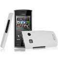 IMAK Ultrathin Matte Color Covers Hard Cases for Nokia 500 - White
