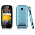 IMAK Ultrathin Matte Color Covers Hard Cases for Nokia 603 - Blue