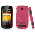IMAK Ultrathin Matte Color Covers Hard Cases for Nokia 603 - Rose