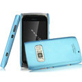 IMAK Ultrathin Matte Color Covers Hard Cases for Nokia 801T - Blue