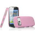 IMAK Ultrathin Matte Color Covers Hard Cases for Nokia C7 - Pink