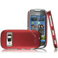 IMAK Ultrathin Matte Color Covers Hard Cases for Nokia C7 - Red