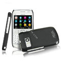 IMAK Ultrathin Matte Color Covers Hard Cases for Nokia E6 - Black
