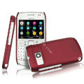 IMAK Ultrathin Matte Color Covers Hard Cases for Nokia E6 - Red