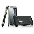 IMAK Ultrathin Matte Color Covers Hard Cases for Nokia E7 - Black