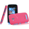IMAK Ultrathin Matte Color Covers Hard Cases for Nokia Lumia 610 - Rose