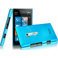 IMAK Ultrathin Matte Color Covers Hard Cases for Nokia Lumia 900 Hydra - Blue