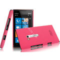 IMAK Ultrathin Matte Color Covers Hard Cases for Nokia Lumia 900 Hydra - Rose