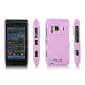 IMAK Ultrathin Matte Color Covers Hard Cases for Nokia N8 - Pink