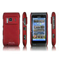 IMAK Ultrathin Matte Color Covers Hard Cases for Nokia N8 - Red