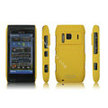 IMAK Ultrathin Matte Color Covers Hard Cases for Nokia N8 - Yellow