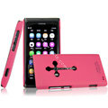IMAK Ultrathin Matte Color Covers Hard Cases for Nokia N9 - Rose