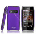IMAK Ultrathin Matte Color Covers Hard Cases for Nokia X7 X7-00 - Purple