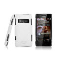 IMAK Ultrathin Matte Color Covers Hard Cases for Nokia X7 X7-00 - White