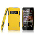 IMAK Ultrathin Matte Color Covers Hard Cases for Nokia X7 X7-00 - Yellow