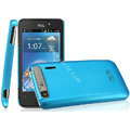 IMAK Ultrathin Matte Color Covers Hard Cases for TCL A860 - Blue