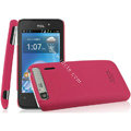 IMAK Ultrathin Matte Color Covers Hard Cases for TCL A860 - Rose
