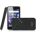 IMAK Ultrathin Matte Color Covers Hard Cases for TCL C995 - Black