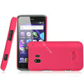 IMAK Ultrathin Matte Color Covers Hard Cases for TCL C995 - Rose