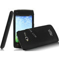 IMAK Ultrathin Matte Color Covers Hard Cases for TCL S600 - Black