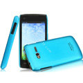 IMAK Ultrathin Matte Color Covers Hard Cases for TCL S600 - Blue