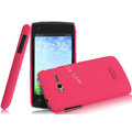 IMAK Ultrathin Matte Color Covers Hard Cases for TCL S600 - Rose