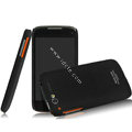 IMAK Ultrathin Matte Color Covers Hard Cases for TCL S800 - Black
