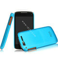IMAK Ultrathin Matte Color Covers Hard Cases for TCL S800 - Blue