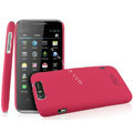 IMAK Ultrathin Matte Color Covers Hard Cases for TCL S900 - Rose