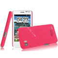 IMAK Ultrathin Matte Color Covers Hard Cases for ThL V11 - Rose
