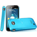 IMAK Ultrathin Matte Color Covers Hard Cases for ThL W2 - Blue