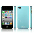 IMAK Ultrathin Matte Color Covers Hard Cases for iPhone 4G\4S - Blue