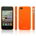 IMAK Ultrathin Matte Color Covers Hard Cases for iPhone 4G\4S - Orange
